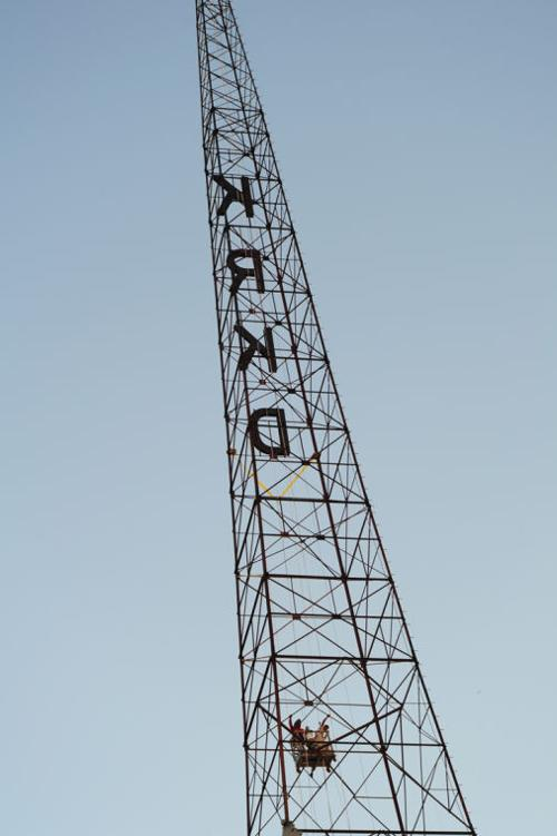Historic Core Radio Towers Get Makeover | News