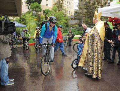 Good Samaritan Hospital Holds Its Blessing of the Bicycles