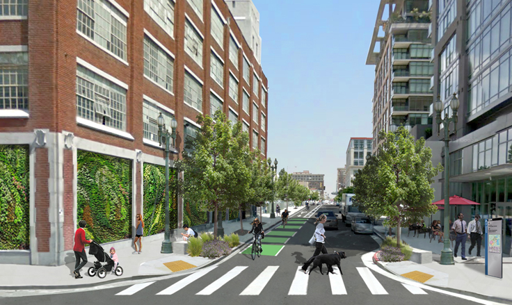 Plan Would Add Bike Lane to 11th Street