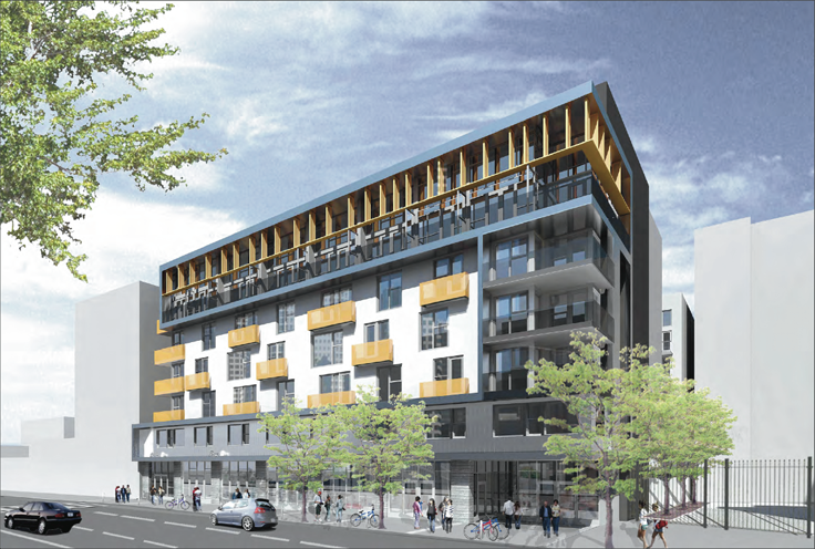 New Mixed Use Complex Planned on Main