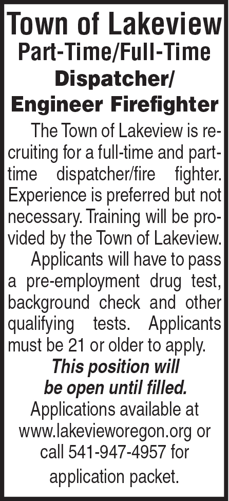 Town of Lakeview Police and Fire Dispatch