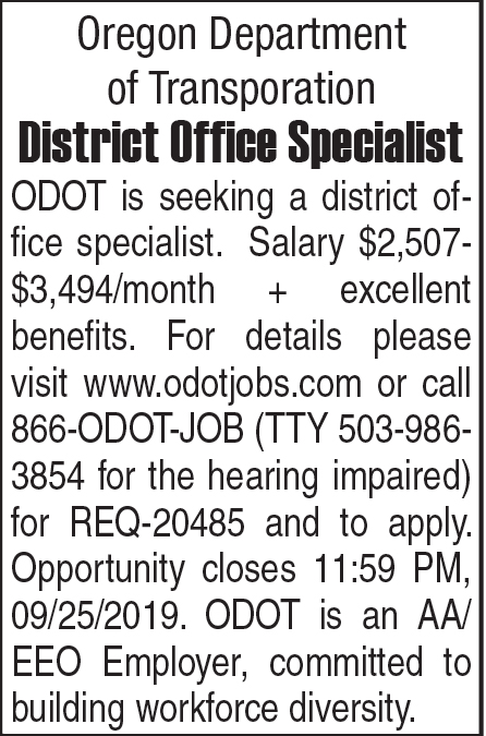 District Office Specialist