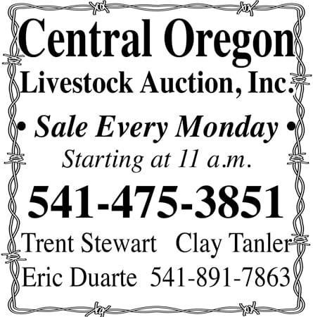 Central Oregon Livestock Auction - thru 2019