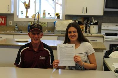 Paisley student signs athletic scholarship