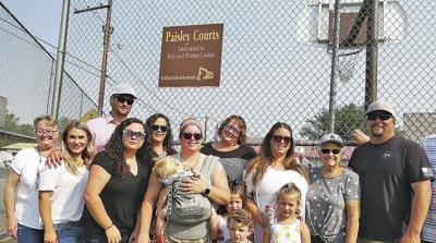 Paisley basketball court dedicated to late father and son
