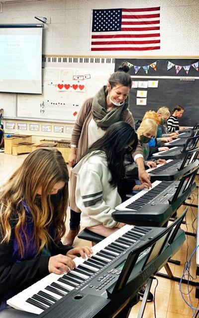 Susane Davis music teacher
