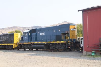 Goose Lake railway new locomotive