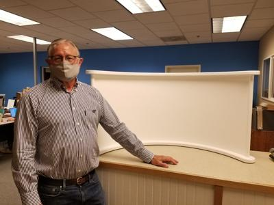 Shield developed by local company to protect workers