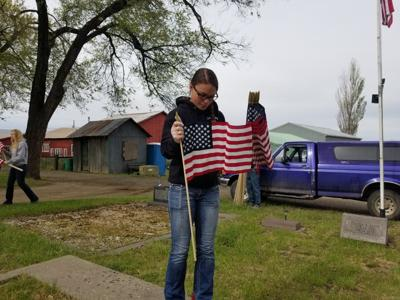 Flags to honor veterans at local cemeteries