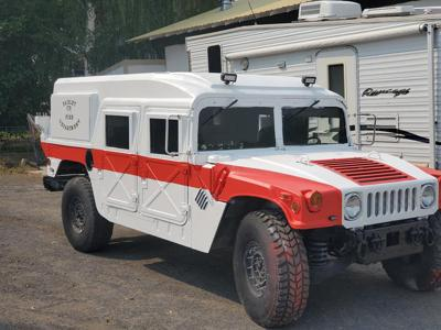 Paisley Fire Department acquires humvee