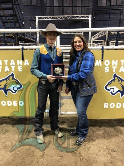 Graham riding off in style in collegiate rodeo
