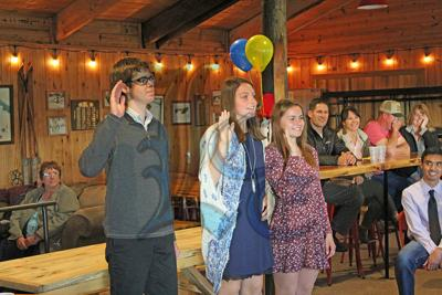 Four students inducted into LHS Honors Society