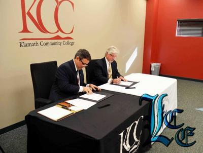 KCC and LHD sign nursing program agreement