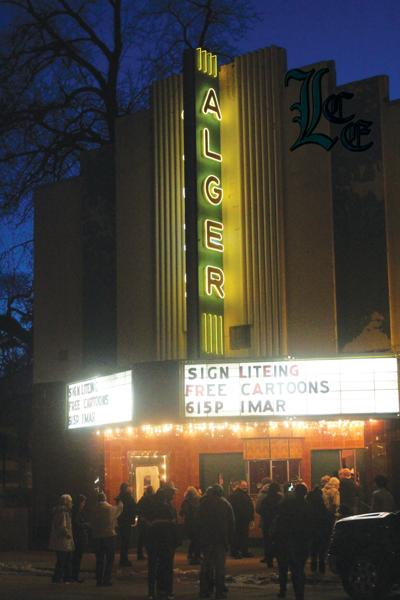 Shining bright again: The Alger Theater