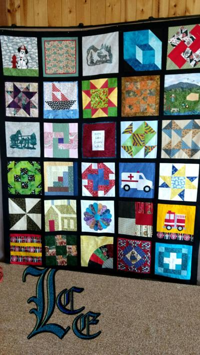 Quilt to support North Lake EMS