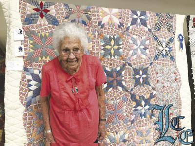 Ninety-nine-year-old Weaver's quilt wins two first place awards