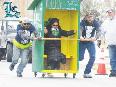 Outhouse races to commence during Irish Days in Lakeview