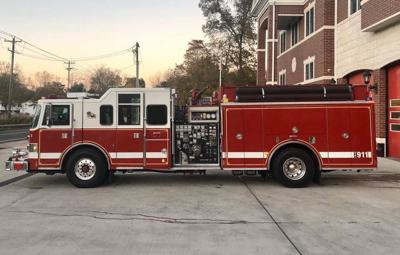 Thomas Creek Fire purchase new fire engine