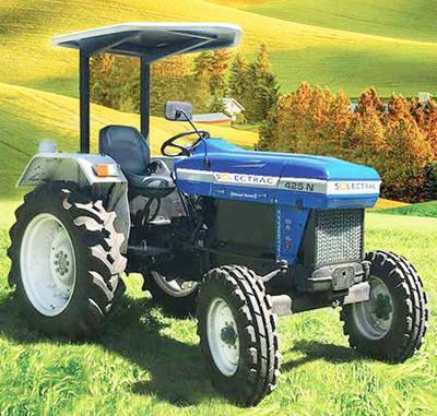 Group to demonstrate electric tractors