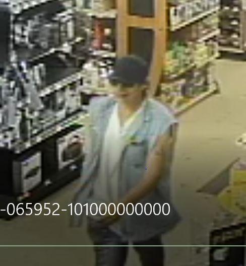 ACE theft suspect