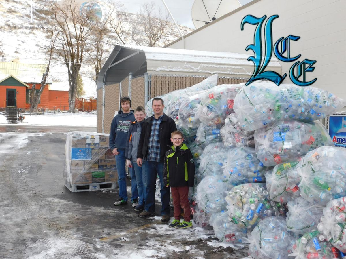 Pastor helping raise cans for family in need