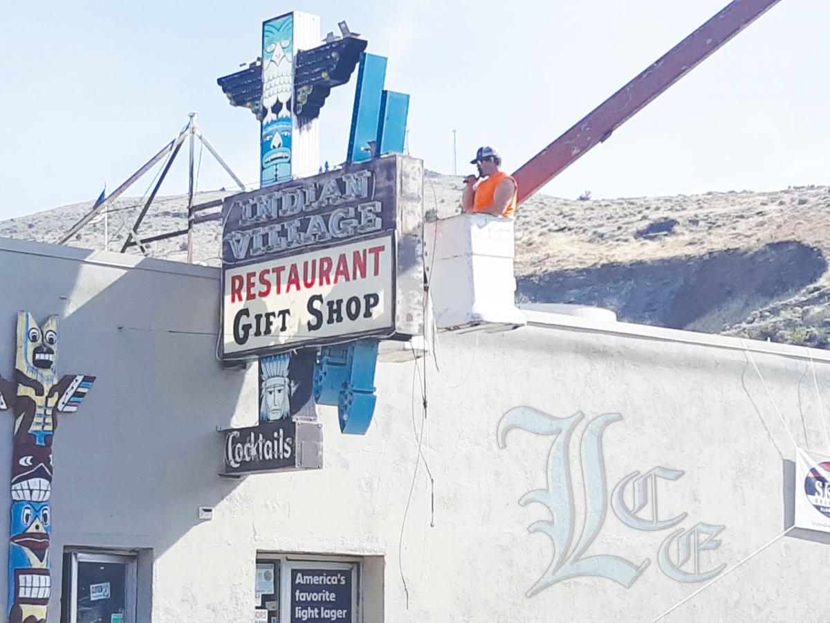 Village sign restored   News   lakecountyexam com