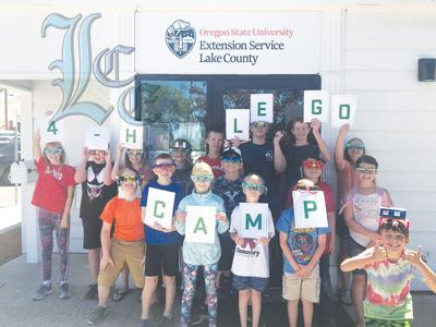 Lego Camp attendees