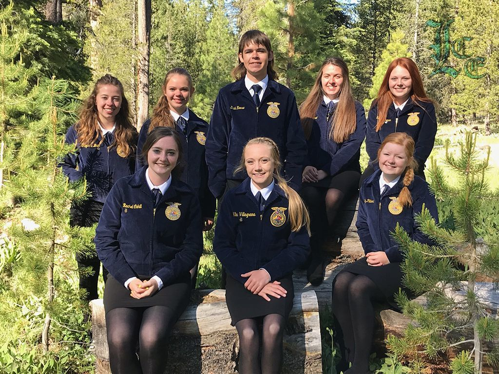 FFA leadership camp attendees