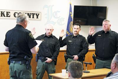 Three new Deputies taking their oaths