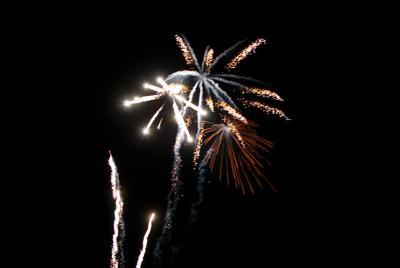 CV fireworks show a go