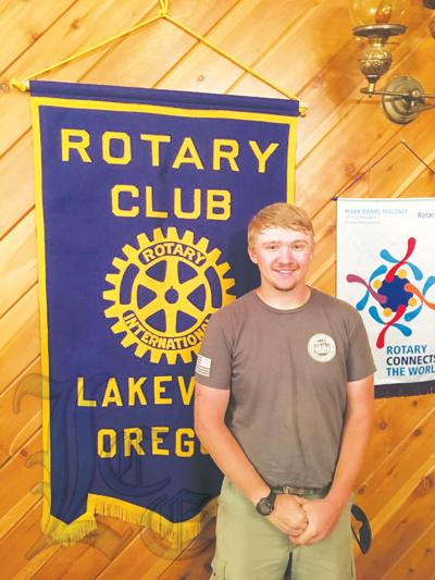 Mark Lee at the Rotary Club