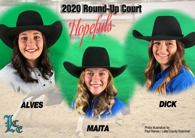 2020 Round-Up Court contestants