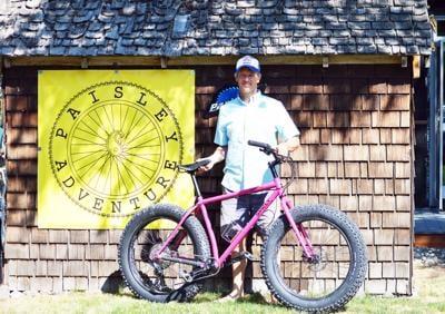 Paisley Adventure offers bike repair, rentals