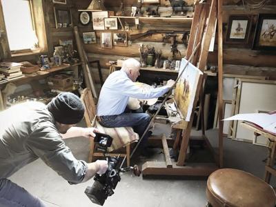 Len Babb Movie Project showcases cowboy, artist