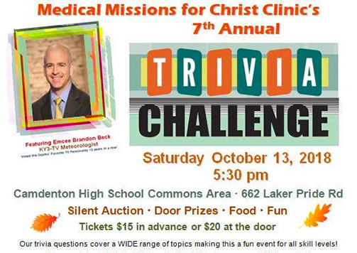 Trivia Challenge MMFC Fundraiser | Charity Events | lakeexpo com