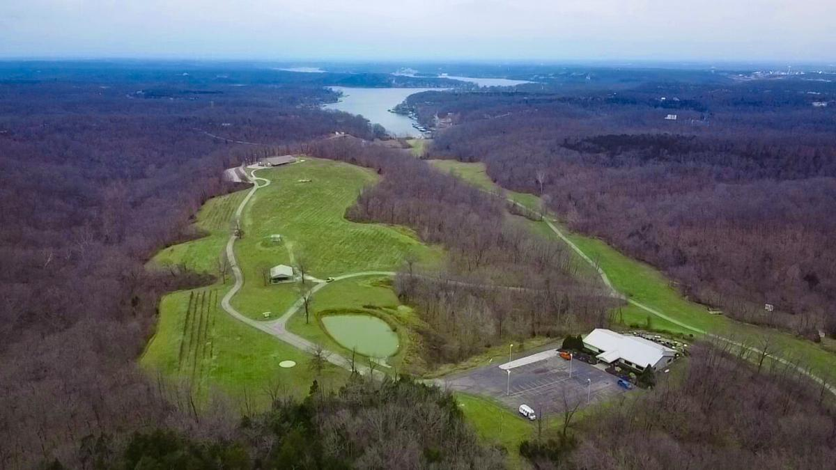 Seven Springs Winery - Aerial
