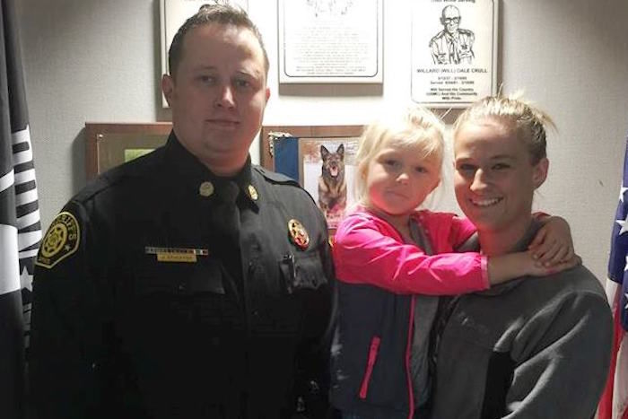 Camden County Deputy Awarded For Quick Action That Saved Three-Year