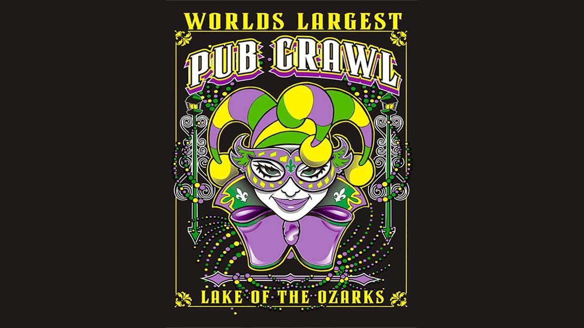 Mardi Gras Pub Crawl Lake of the Ozarks