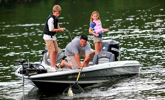 Fishing report where what to cast at lake of the ozarks for Fishing report lake of the ozarks