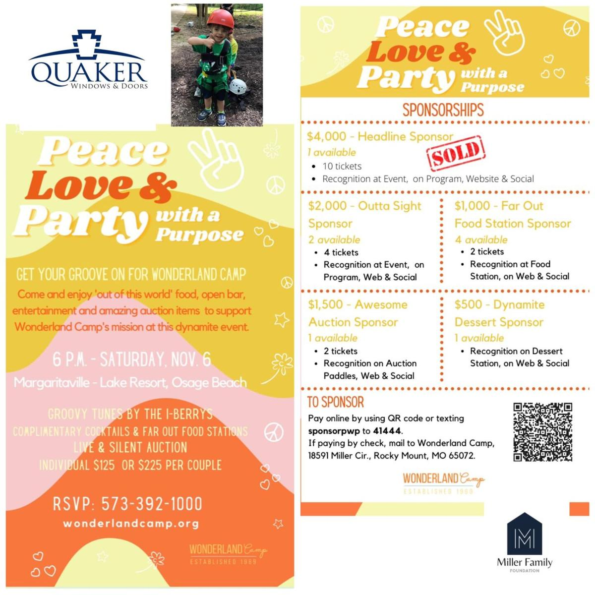 Party With A Purpose Flyer