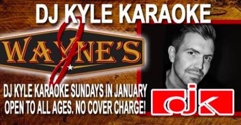 J Wayne's Karaoke w/DJ Kyle