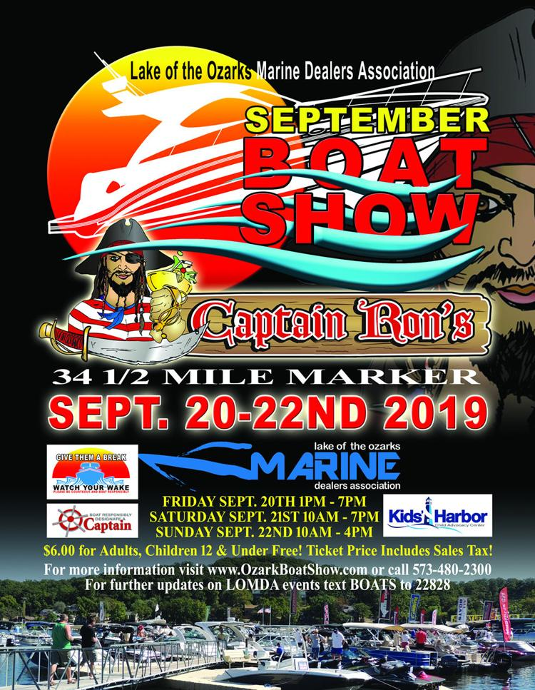 2019 Fall In Water Boat Show Flyer