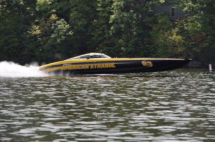 Shootout boat