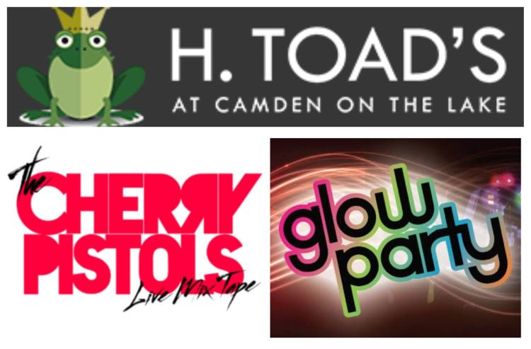H. Toad's Glow Party Cherry Pistols Collage