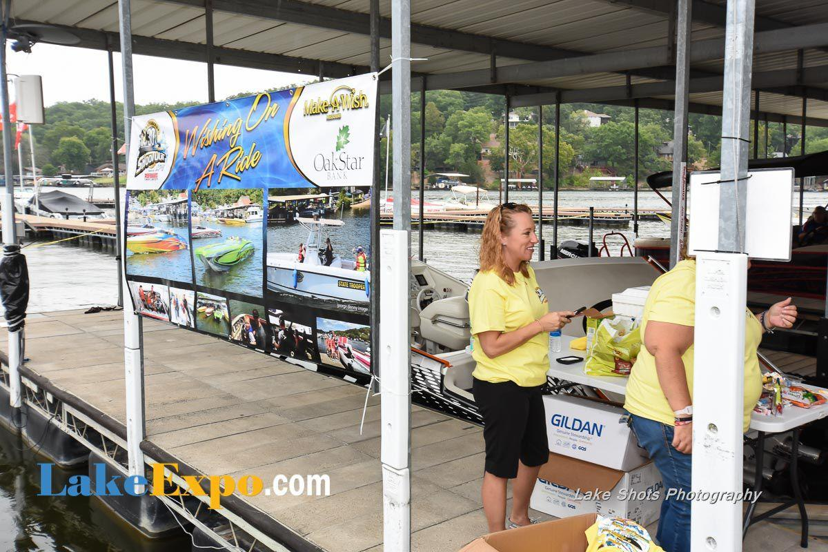 Make-A-Wish -- Wishing On A Ride At The Shootout, Sponsored By OakStar Bank