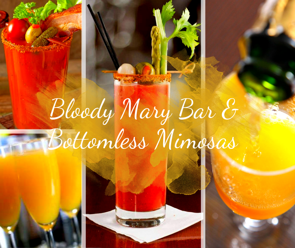 H Toads Bloody Mary Bar & Bottomless Mimosas