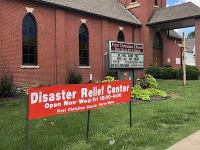 Eldon Disaster Relief Center