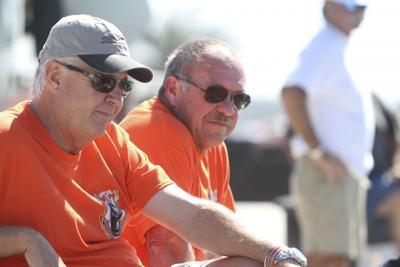 Bob Bull (right) & Co-Racer Randy Scism