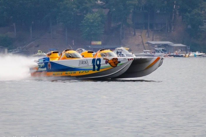 Which Is Best V Hull Or Catamaran Shootout Racers Weigh In On The