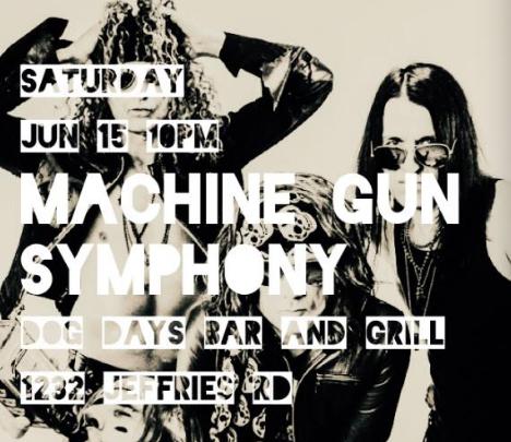 Machine Gun Symphony Dog Days